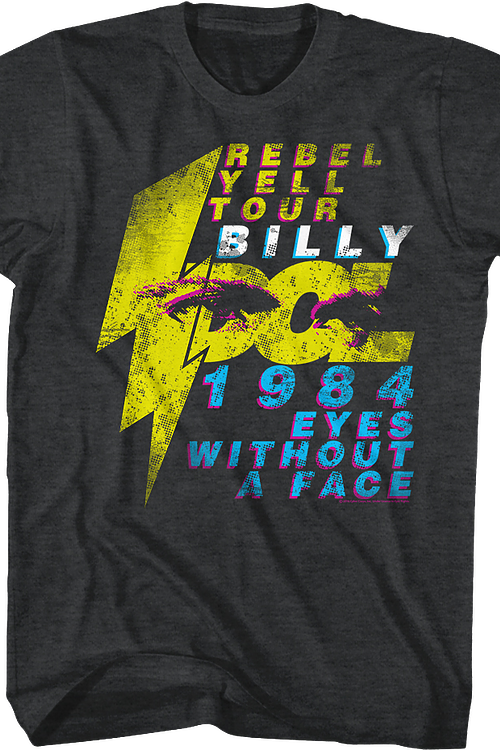 Eyes Without A Face Billy Idol T-Shirt