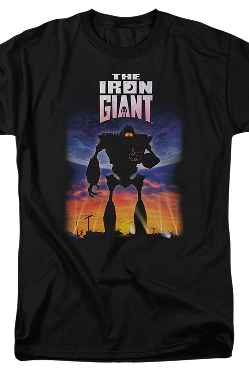 Poster Artwork Iron Giant T-Shirt