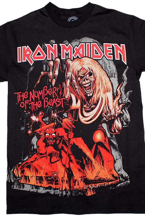 Number Of The Beast Iron Maiden T-Shirt