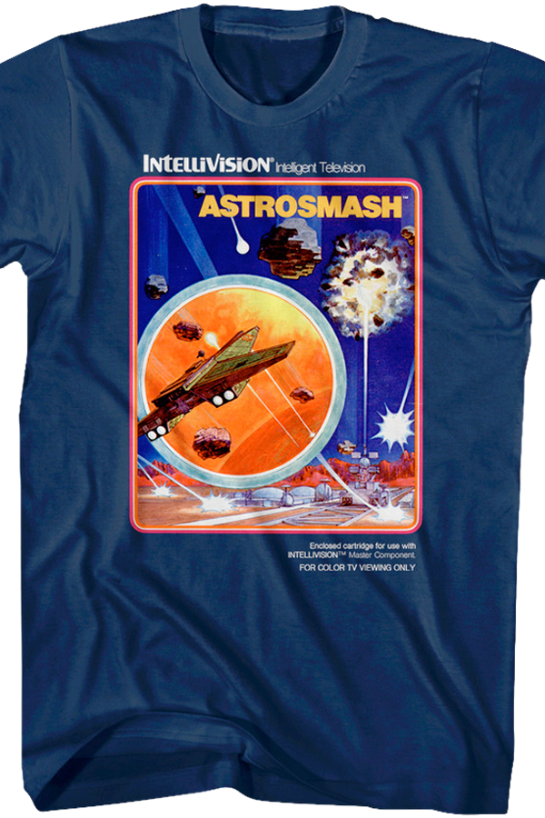 Astrosmash Intellivision T-Shirt