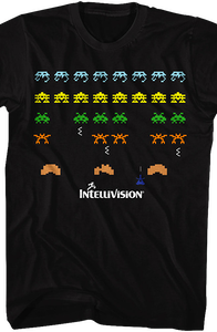 Space Armada Intellivision T-Shirt