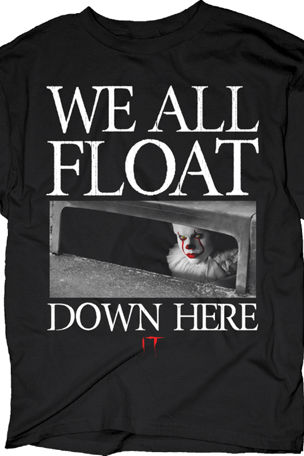 We All Float Down Here Stephen King's IT T-Shirt