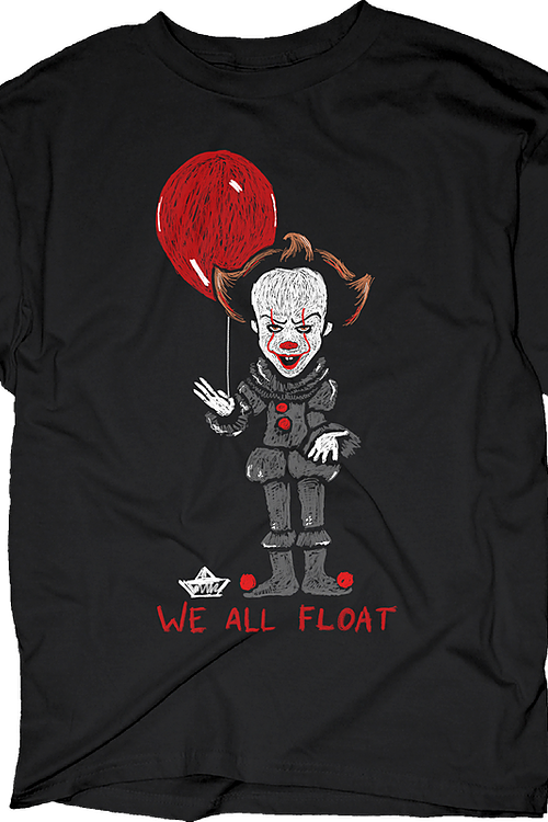 We All Float Stephen King's IT T-Shirt