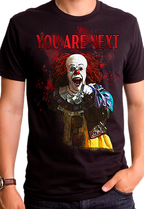 You Are Next Stephen King's IT T-Shirt