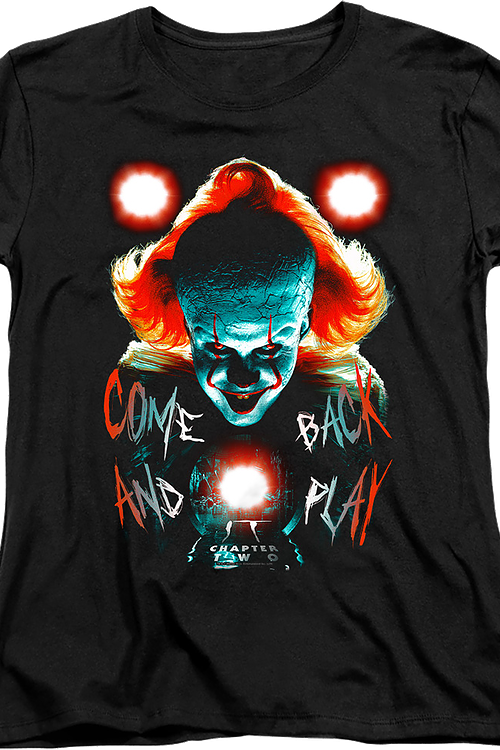 Womens Come Back And Play IT Chapter Two Shirt