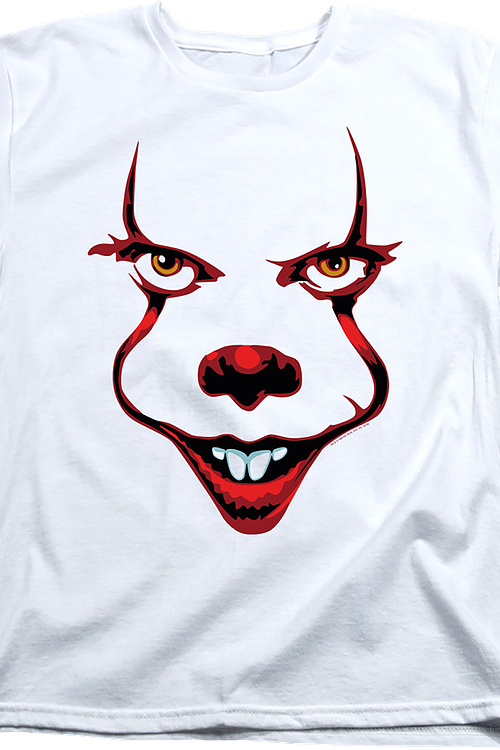 Womens Pennywise Face IT Shirt