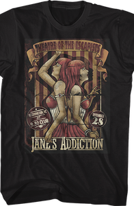 Theatre of the Escapists Jane's Addiction T-Shirt