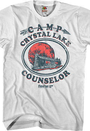 Camp Crystal Lake Counselor Friday the 13th T-Shirt