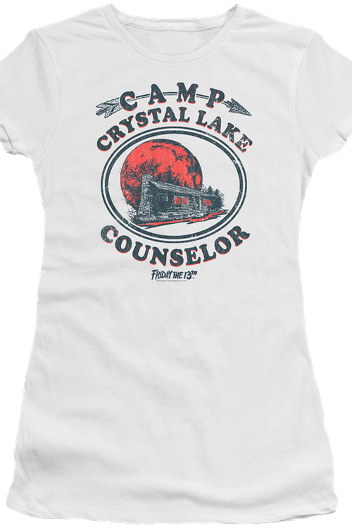 Junior Camp Crystal Lake Counselor Shirt