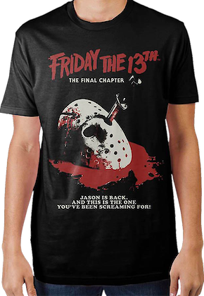 d39e6d1f5 Junior Camp Crystal Lake Counselor Shirt. From $44.56. The Final Chapter  Friday the 13th T-Shirt
