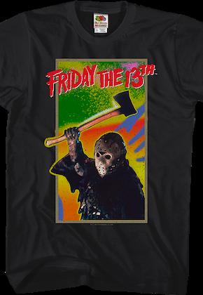 e744239f7141e0 Nintendo Cartridge Art Friday the 13th T-Shirt