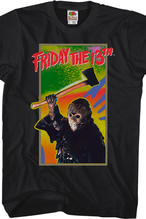 Nintendo Cartridge Art Friday the 13th T-Shirt