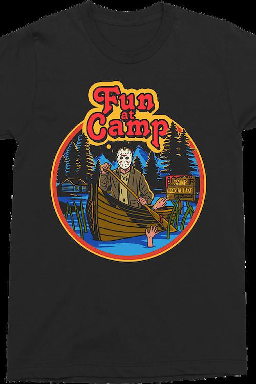 0ddfd8a4e5 Fun at Camp Friday the 13th T-Shirt: Friday the 13th Mens T-Shirt