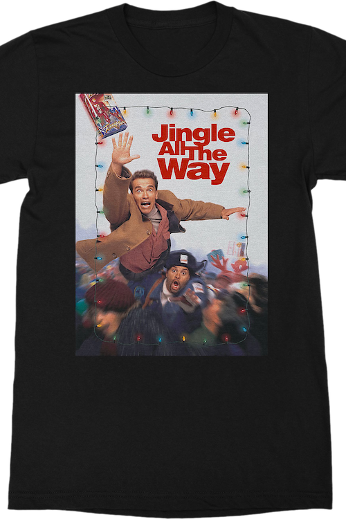 Movie Poster Jingle All The Way T-Shirt