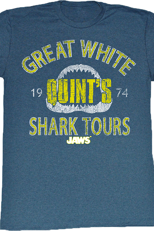 Quints Shark Tours Shirt