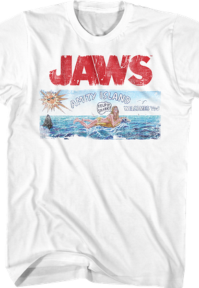171e22e5c JAWS Shirts - Officially Licensed - Free Shipping Available