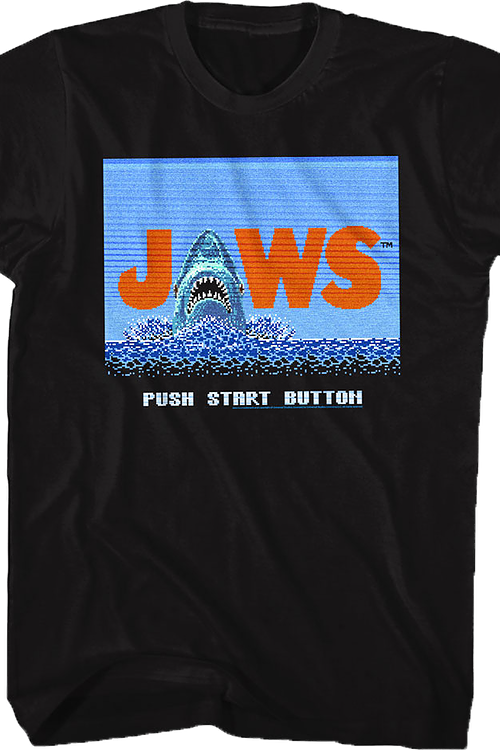 Video Game Jaws T-Shirt