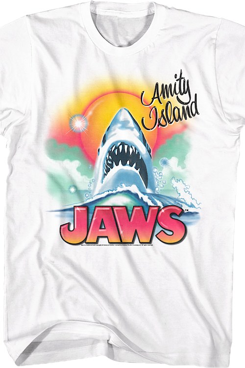 Airbrush Jaws T-Shirt