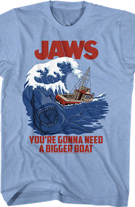 Gonna Need A Bigger Boat Jaws T-Shirt