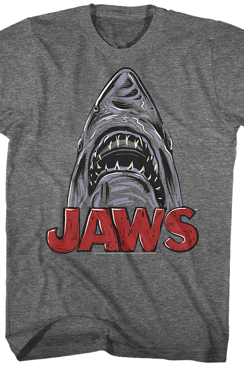 Shark Sketch Jaws T-Shirt