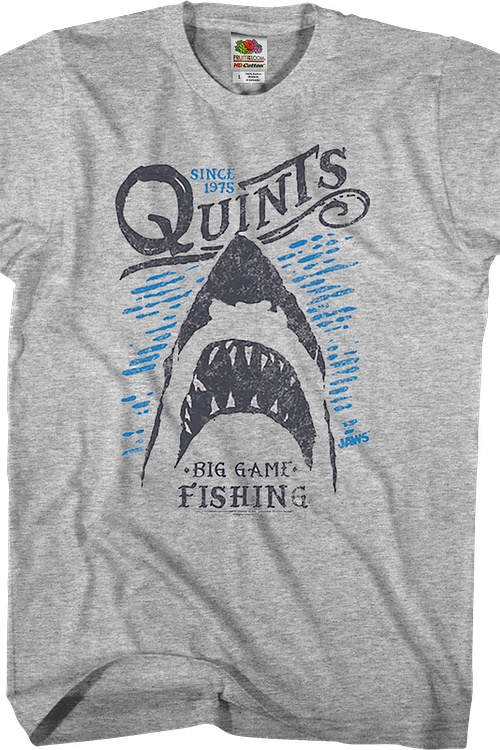 Quint's Big Game Fishing Jaws T-Shirt