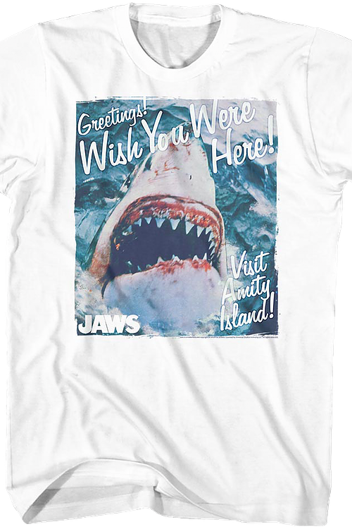 Wish You Were Here Jaws T-Shirt