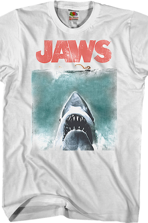 Vintage Movie Poster Jaws Shirt