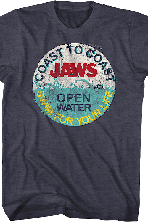 Swim For Your Life Jaws T-Shirt