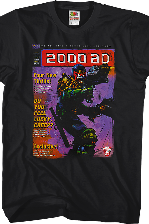 Comic Cover Judge Dredd T-Shirt