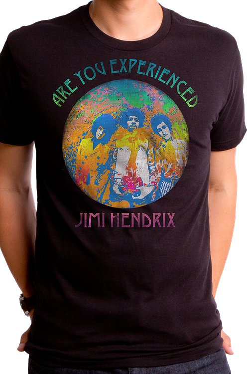Jimi Hendrix Are You Experienced Album T-Shirt