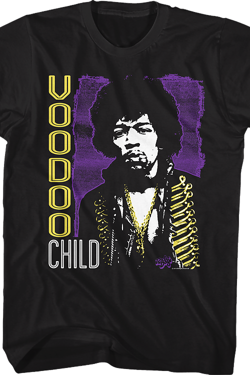 Voodoo Child Jimi Hendrix T-Shirt