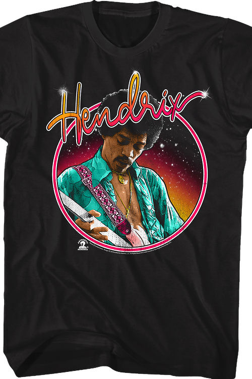 Circle Jimi Hendrix T-Shirt