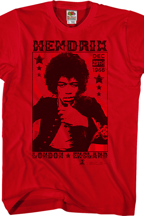 London 1966 Jimi Hendrix T-Shirt