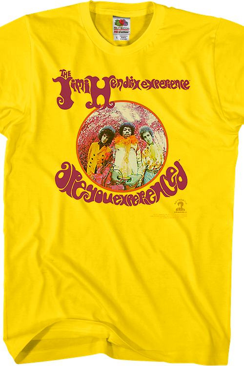 Are You Experienced Jimi Hendrix T-Shirt