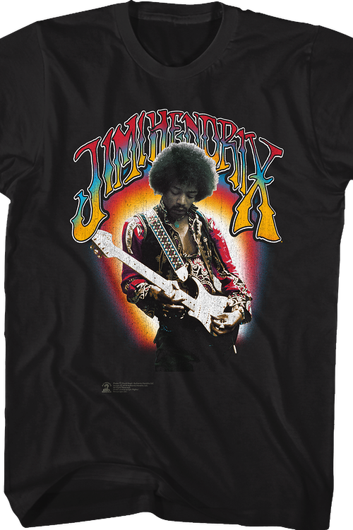 Electric Colors Jimi Hendrix T-Shirt