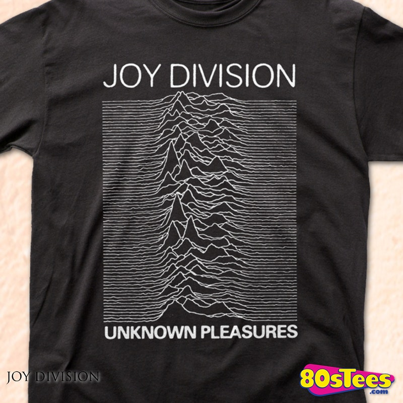 unknown pleasures joy division t shirt joy division mens. Black Bedroom Furniture Sets. Home Design Ideas