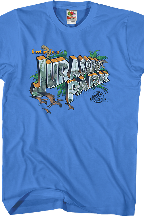 Greetings From Jurassic Park T-Shirt
