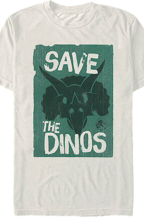 Save The Dinos Jurassic World T-Shirt