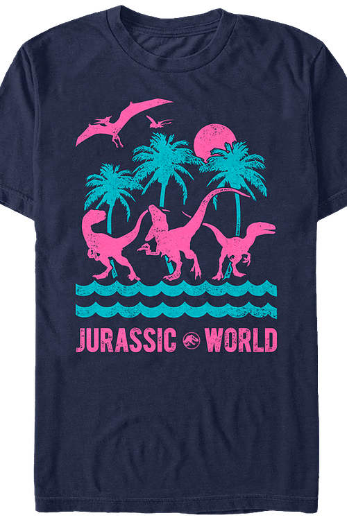 Isla Nublar Jurassic World T-Shirt