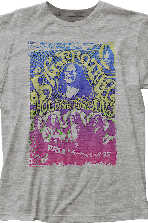 Big Brother and the Holding Company T-Shirt