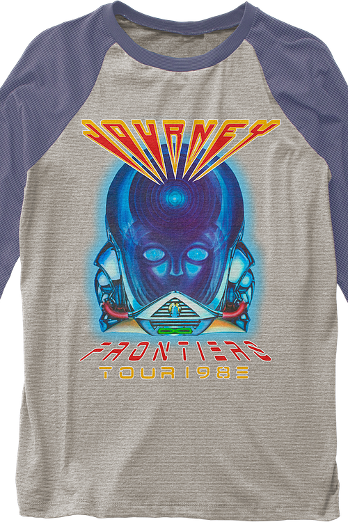Frontiers Journey Raglan Baseball Shirt