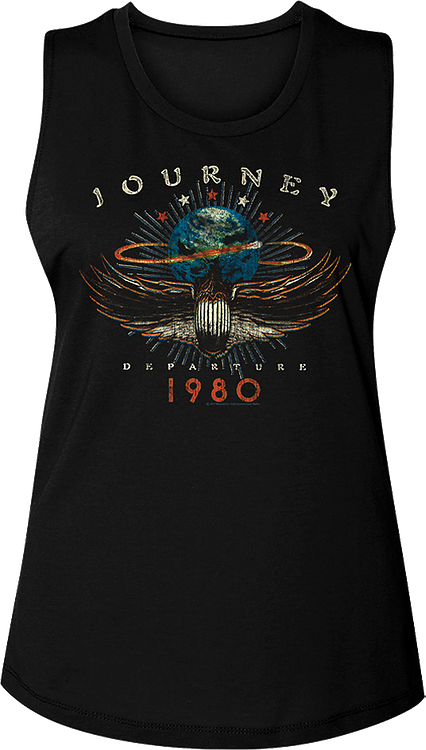 Ladies Departure Journey Muscle Tank Top