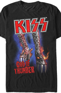 God of Thunder Kiss T-Shirt