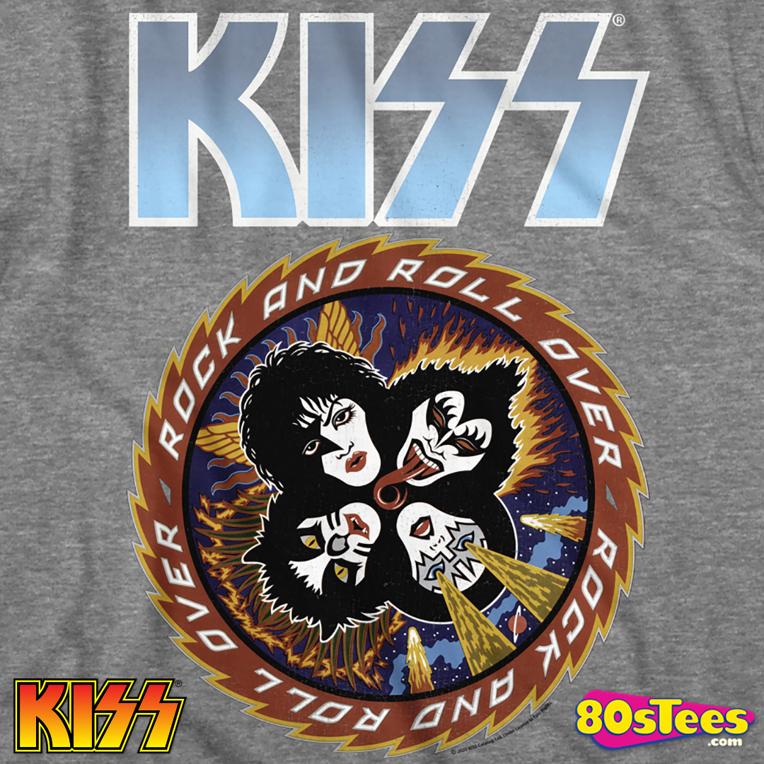 Kiss /'Rock And Roll Over/' T-Shirt NEW /& OFFICIAL!