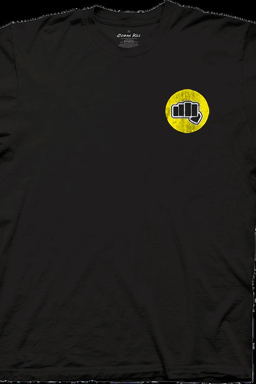 03bf50aa Fist Cobra Kai T-Shirt: 80s Movies Karate Kid T-shirt