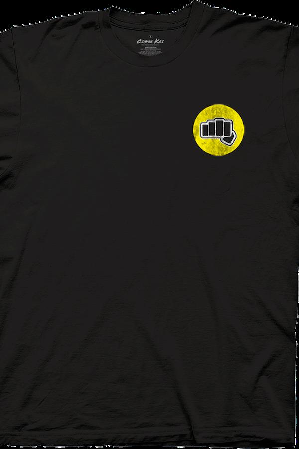 Fabulous Fist Cobra Kai T-Shirt: 80s Movies Karate Kid T-shirt JO24
