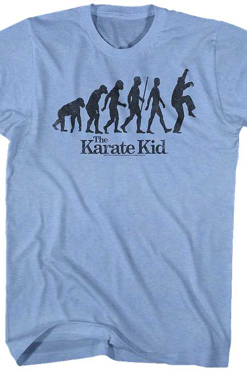 Evolution Crane Kick Karate Kid Shirt