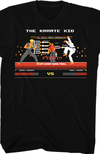 Karate Kid Video Game T-Shirt