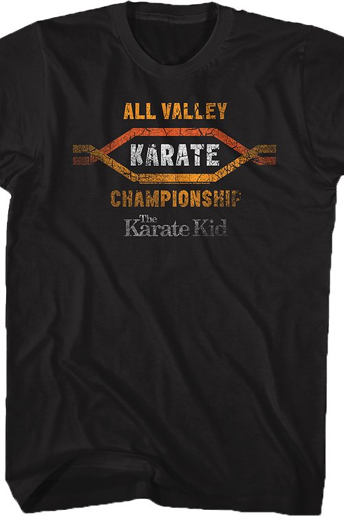 All Valley Karate Championship Karate Kid T-Shirt
