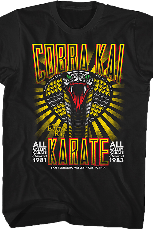 Karate Kid Cobra Kai Tattoo T-Shirt